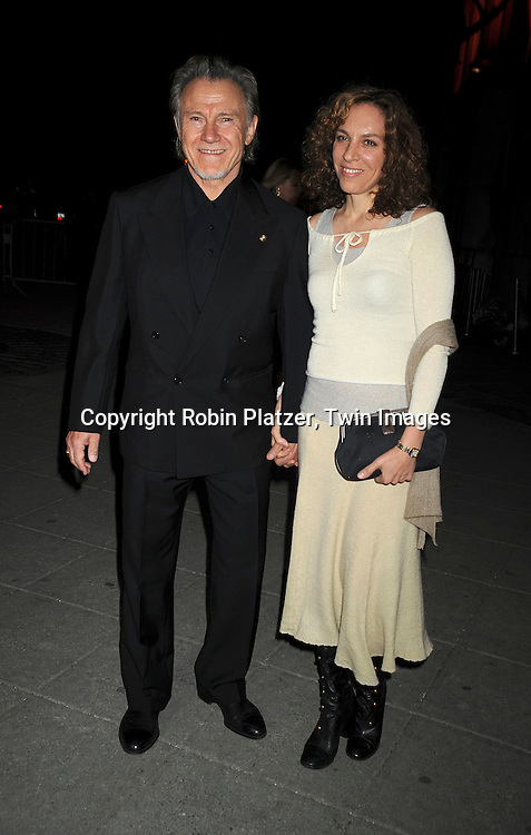 Harvey Keitel & wife  Daphna Kastner
