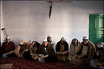 students attend an arabic prononciation class at the daral-uloom sarhad madrassa in peshawar
