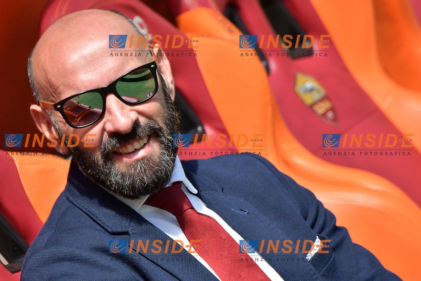 Monchi Roma <br /> Roma 30-04-2017 Stadio Olimpico Football Calcio Serie A 2016/2017 AS Roma - Lazio Foto Andrea Staccioli / Insidefoto