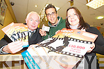 VIDEO FINALIST: Tralee student Bernhard Lietzmann who was shortlisted in the My Place Video Competition organised by the Irish League of Credit Unions. From l-r: Fintan Ryan (Manager of Tralee Credit Union), Bernhard Lietzmann (finalist) and Katie Sheehy (Vice President of Students Union).   Copyright Kerry's Eye 2008