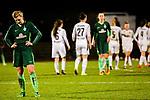 03.12.2017, Platz 11, Bremen, GER, DFB Pokal der Frauen, Achtelfinale, SV Werder Bremen vs SGS Essen, <br /> <br /> im Bild | picture shows<br /> pure Entt&auml;uschung nach der 0:5 Niederlage bei Verena Volkmer (Werder Bremen #16), <br /> <br /> Foto &copy; nordphoto / Rauch