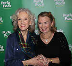 Hayley Mills and Juliet Mills attends the Opening Night of 'Party Face' on January 22, 2018 at Robert 2 Restaurant in New York City.