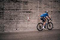 Zdenek Stybar (CZE/Quick-Step Floors) up the Passo di Sant'Antonio<br /> <br /> stage 15: Tolmezzo – Sappada (176 km)<br /> 101th Giro d'Italia 2018