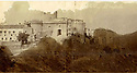 Collect photo of the Castle at Picinisco, Itlay. (Date Unknown).