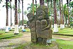 Puerto Limon, Costa Rcia, Parque Vargas, Statues