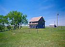 Abandoned farmhouse, SD