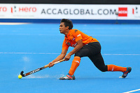 Najmi Jazlan of Malaysia during the Hockey World League Semi-Final match between Argentina and Malaysia at the Olympic Park, London, England on 24 June 2017. Photo by Steve McCarthy.