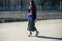 Natasha Goldenberg at Paris Fashion Week (Photo by Hunter Abrams/Guest of a Guest)