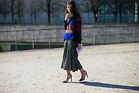 Natasha Goldenberg at Paris Fashion Week (Photo by Hunter Abrams/Guest of a Guest)