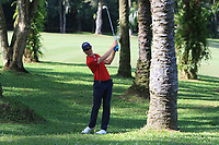 Thomas Detry (BEL) in action on the 6th during Round 4 of the Maybank Championship at the Saujana Golf and Country Club in Kuala Lumpur on Saturday 4th February 2018.<br /> Picture:  Thos Caffrey / www.golffile.ie<br /> <br /> All photo usage must carry mandatory copyright credit (&copy; Golffile | Thos Caffrey)