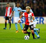 13-09-2017,Rotterdam, de Kuip, Voetbal, Champions League, Feyenoord-Manchester City 0-4<br /> foto Michael Kooren<br /> Vilehna. B Silva
