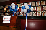 Atmosphere at The Broadway League and the Coalition of Broadway Unions and Guilds (COBUG) presents the 9th Annual Broadway Salutes at Sardi's on November , 2017 in New York City.