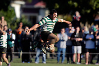 Action from the Wellington premier club rugby Jubilee Cup final between Old Boys University and Hutt Old Boys Marist at Petone Rec in Wellington, New Zealand on Saturday, 5 August 2017. Photo: Mike Moran / lintottphoto.co.nz