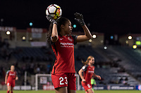 Bridgeview, IL - Saturday March 31, 2018: Margaret Purce during a regular season National Women's Soccer League (NWSL) match between the Chicago Red Stars and the Portland Thorns FC at Toyota Park.