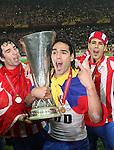 090512 Atletico Madrid v Athletic Bilbao Europa League Final