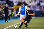 Lucas Vazquez of Real Madrid fights for the ball with Diego Rico Salguero of CD Leganes during the Copa del Rey 2017-18 match between CD Leganes and Real Madrid at Estadio Municipal Butarque on 18 January 2018 in Leganes, Spain. Photo by Diego Gonzalez / Power Sport Images