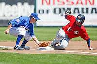 hernan Iribarren May 5th, 2010; Oklahoma CIty Redhawks vs Omaha Royals at historic Rosenblatt Stadium in Omaha Nebraska.  Photo by: William Purnell/Four Seam Images