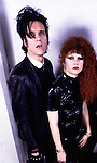 Cramps 1983 Lux Interior and Poison Ivy.© Chris Walter.