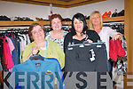 Kingdom Care charity shop are appealing for resaleable items for the shop in order to support their work in Kerry. .Front L-R Triona Houlihan and Liz Keane .Back L-R Mary Curran and Aine Kenny