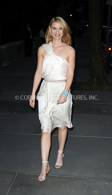 WWW.ACEPIXS.COM . . . . . ....April 29 2010, New York City....Actress Claire Danes arriving at Chopard's 150 years of excellence Gala at The Frick Collection on April 29, 2010 in New York City. ....Please byline: KRISTIN CALLAHAN - ACEPIXS.COM.. . . . . . ..Ace Pictures, Inc:  ..(212) 243-8787 or (646) 679 0430..e-mail: picturedesk@acepixs.com..web: http://www.acepixs.com