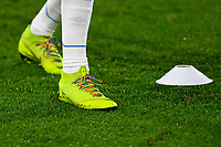 Rainbow laces in support of LGBT during AFC Bournemouth vs Huddersfield Town, Premier League Football at the Vitality Stadium on 4th December 2018