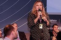 """SÃO PAULO, SP. 06.02.2015 - CAMPUS PARTY DEBATES """"DADOS E PRIVACIDADE"""" - Raquel Gatto, responsável por políticas públicas na América Latina da Internet Society é a moderadora do debate """"Dados e privacidade"""" que aconteceu na oitava edição da Campus Party na tarde desta sexta-feira, (6). (Foto: Renato Mendes / Brazil Photo Press)"""