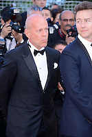 "Bruce Willis and Ewan Mc Gregor  attending the ""Moonrise Kingdom"" Premiere during the 65th annual International Cannes Film Festival in , 16th May 2012...Credit: Timm/face to face /MediaPunch Inc. ***FOR USA ONLY***"