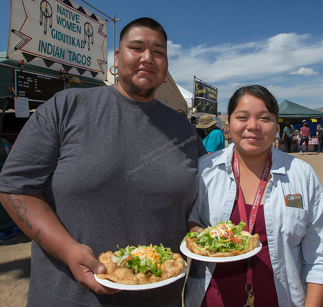 Will Tewawina and Michelle Lent at the Numaga Indian Days Pow Wow in Hungry Valley on Saturday, Sept. 3, 2016.