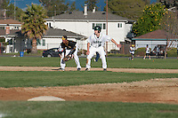 The Harker School - US - Upper School - Varsity Boys Baseball vs Mountain View High School...2012-03-01...Photo by Kyle Cavallaro