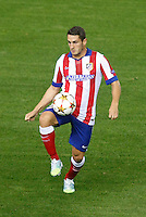 Atletico de Madrid´s Koke during Champions League soccer match between Atletico de Madrid and Malmo at Vicente Calderon stadium in Madrid, Spain. October 22, 2014. (ALTERPHOTOS/Victor Blanco)