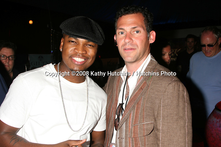 Ne-Yo & Gavin B. Keilly  at the BET Awards GBK Gifting Lounge outside the Shrine Auditorium in Los Angeles, CA on.June 22, 2008.©2008 Kathy Hutchins / Hutchins Photo .