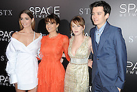 www.acepixs.com<br /> <br /> January 17 2017, LA<br /> <br /> Janet Montgomery, Carla Gugino, Britt Robertson and Asa Butterfield arriving at the premiere 'The Space Between Us' at the ArcLight Hollywood on January 17, 2017 in Hollywood, California. <br /> <br /> By Line: Peter West/ACE Pictures<br /> <br /> <br /> ACE Pictures Inc<br /> Tel: 6467670430<br /> Email: info@acepixs.com<br /> www.acepixs.com