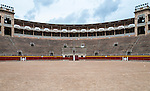 Barrio Gotico Bullring (Plaza de Toros) in Palma de Mallorca, Balearic Islands, Spain