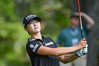 Sung Hyun Park (KOR) watches her tee shot on 14 during round 2 of the U.S. Women's Open Championship, Shoal Creek Country Club, at Birmingham, Alabama, USA. 6/1/2018.<br /> Picture: Golffile | Ken Murray<br /> <br /> All photo usage must carry mandatory copyright credit (&copy; Golffile | Ken Murray)