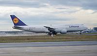 Boeing767 der Lufthansa - Frankfurt 16.10.2019: Eichwaldschuele Schaafheim am Frankfurter Flughafen