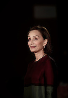 British actress Kristin Scott Thomas poses on the red carpet for a special screening of the movie &quot;The English Patient&quot; during the international Rome Film Festival at Rome's Auditorium, 22 October 2016. The Film Festival celebrates one of the most beloved of Cinema History 'The English Patient' by Anthony Minghella, released twenty years ago (in 1996). <br /> UPDATE IMAGES PRESS/Isabella Bonotto