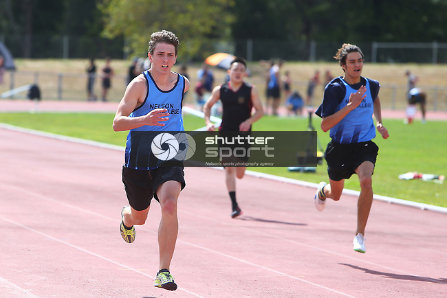 NELSON, NEW ZEALAND - March 13:  TSS Athletics Saxton Oval on March13 2018 in Nelson, New Zealand. (Photo by: Evan Barnes Shuttersport Limited)
