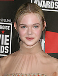 Elle Fanning at The16th Annual Critics' Choice Movie Awards held at The Hollywood Palladium in Hollywood, California on January 14,2011                                                                               © 2010 Hollywood Press Agency