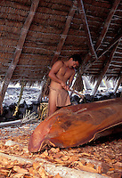 EDITORIAL ONLY. Puukohala Heiau, Hawaiian temple, commemoration ceremony. Big Island.