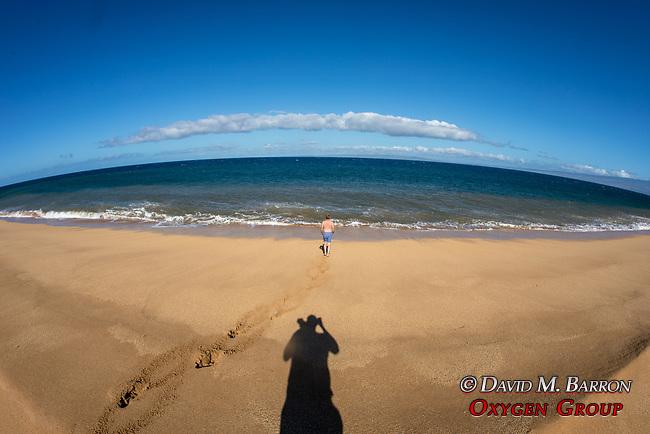 Adam On Polihua Beach