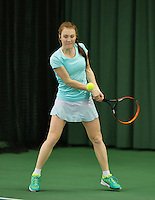 Rotterdam, The Netherlands, March 11, 2016,  TV Victoria, , NOJK 12/16 years, Chanel Janssen<br /> Photo: Tennisimages/Henk Koster