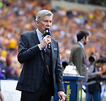 19.05.2018 Scottish Cup Final Celtic v Motherwell: Michael Buffer