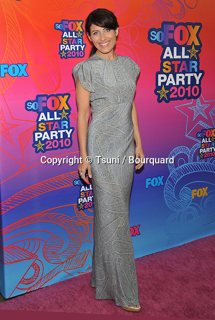 Lisa Edelstein<br /> FOX tca Summer Party on the santa Monica Pier in Los Angeles.