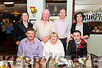 Kingdom Harriers Hunt Club Social Night in the Porterhouse, Killarney last Saturday night. Pictured front l-r Paddy Murphy, Halina Murphy and John Nagle, back l-r Josie Kissane, Pat Moynihan, Denis O'Brien and Nollaig Hurley.