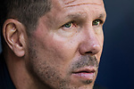 Coach Diego Simeone of Atletico de Madrid prior to the La Liga 2017-18 match between Atletico de Madrid and Sevilla FC at the Wanda Metropolitano on 23 September 2017 in Madrid, Spain. Photo by Diego Gonzalez / Power Sport Images