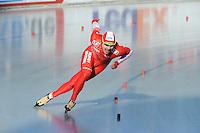 SCHAATSEN: BOEDAPEST: Essent ISU European Championships, 07-01-2012, 500m Men, Jan Szymanski POL, ©foto Martin de Jong