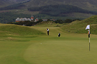 Jana Melichova (Czech) on the 1st during Round 2 of the Women's Amateur Championship at Royal County Down Golf Club in Newcastle Co. Down on Wednesday 12th June 2019.<br /> Picture:  Thos Caffrey / www.golffile.ie