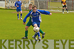 Kingdom Boys  v   Athletic  battling it out in the under 13s Cup Final in Mounthawk Park, Tralee, on Saturday afternoon.