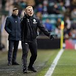 19.12.2018 Hibs v Rangers: Neil Lennon