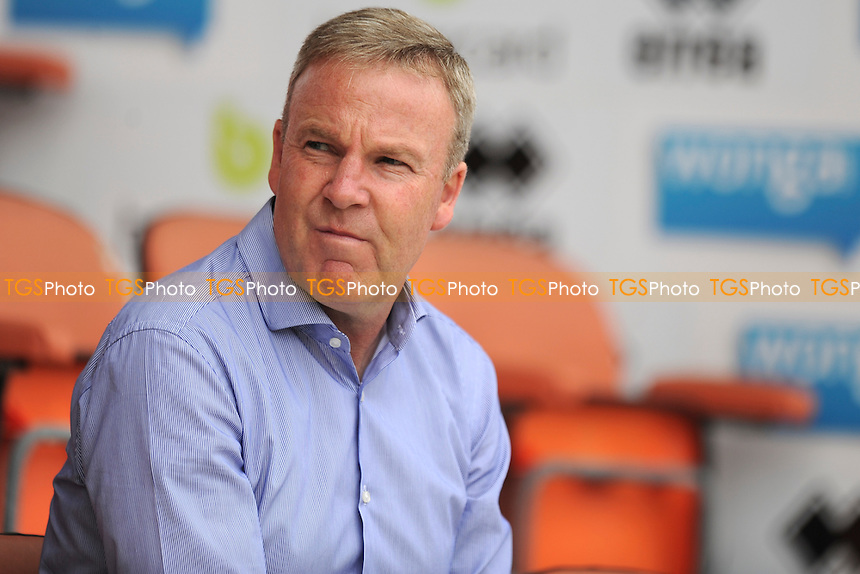 Wolverhampton Wanderers manager Kenny Jackett - Blackpool vs Wolverhampton Wanderers - Sky Bet Championship Football at Bloomfield Road, Blackpool, Lancashire - 13/09/14 - MANDATORY CREDIT: Greig Bertram/TGSPHOTO - Self billing applies where appropriate - contact@tgsphoto.co.uk - NO UNPAID USE
